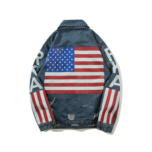 """RKA"" Denim Jacket"