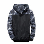 """Camo"" Windbreaker Jacket"