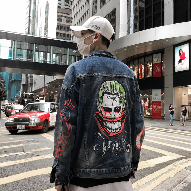 """Joker"" Denim Jacket"