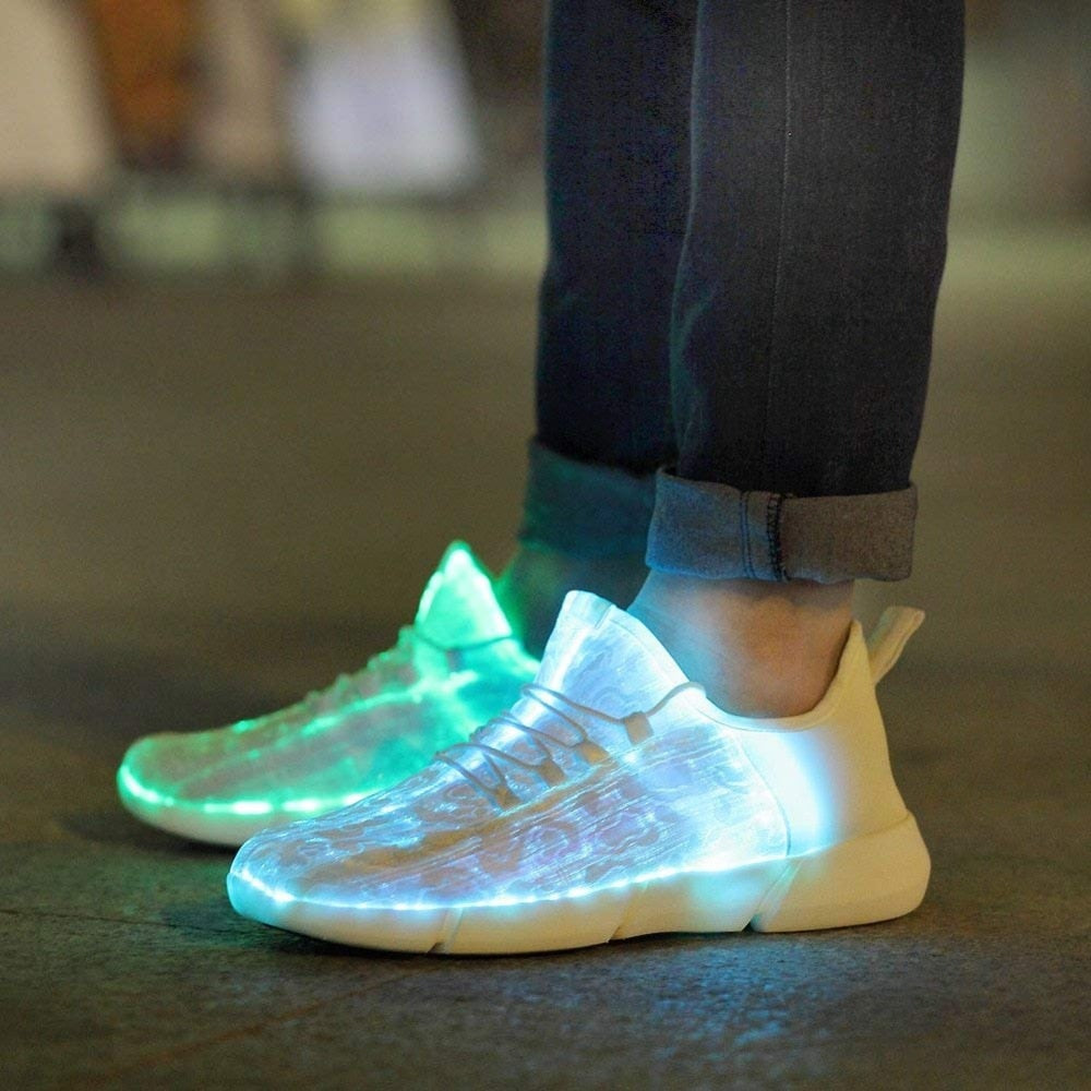 Light-up™ - Luminous Fiber Optic Shoes