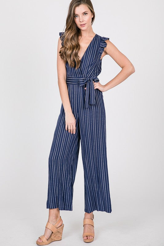 Life is a Resort Jumpsuit - navy