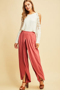 Fun in the Sun Pant - brick red