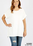 Goes with Everything Top - ivory