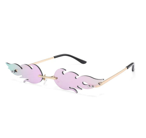 Flame Sunglasses (various colors)