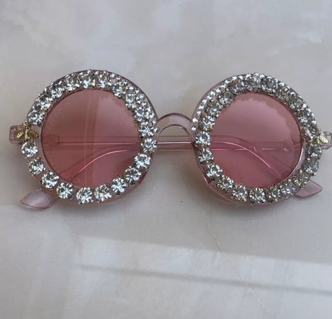 Diamond Round Circle Sunglasses