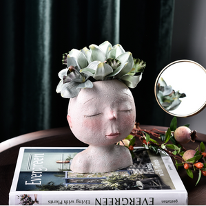 Head Planter - Wanderlushinterior - Planters on Sales with Free shipping