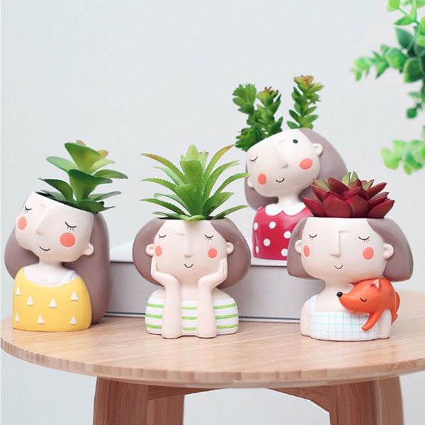 Crazy Plant Lady Planter - Wanderlushinterior - Planters on Sales with Free shipping