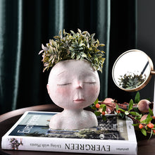 Load image into Gallery viewer, Head Planter - Wanderlushinterior - Planters on Sales with Free shipping