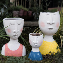 Load image into Gallery viewer, Face Planter - Wanderlushinterior - Planters on Sales with Free shipping