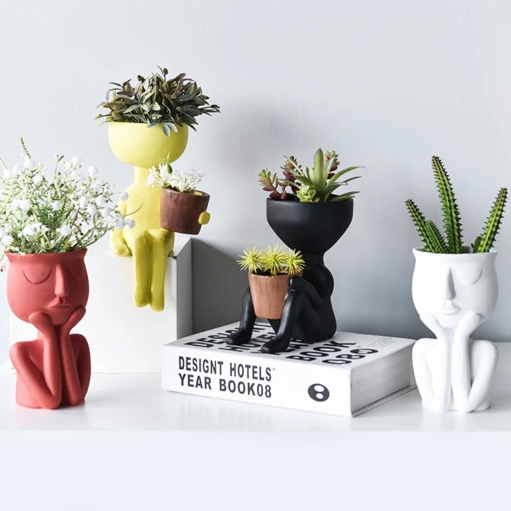 Plant Lover Planter - Wanderlushinterior - Planters on Sales with Free shipping