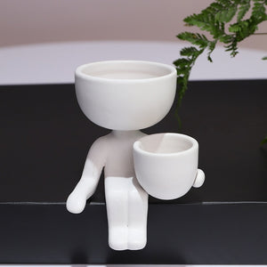 Yoga Planter - Wanderlushinterior - Planters on Sales with Free shipping