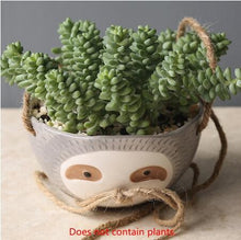 Load image into Gallery viewer, Hanging Sloth Pot - Wanderlushinterior - Planters on Sales with Free shipping