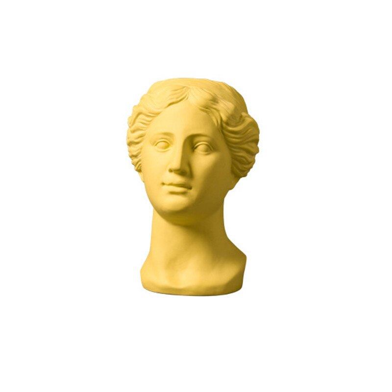 Greek Goddess Head Planter - Wanderlushinterior - Planters on Sales with Free shipping
