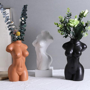 Female Sculpture Planter