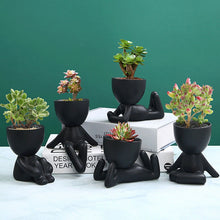 Load image into Gallery viewer, Zen Planter (Black)