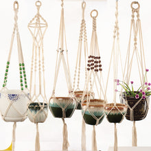 Load image into Gallery viewer, Handmade Macrame Plant Hanger - Wanderlushinterior - Planters on Sales with Free shipping