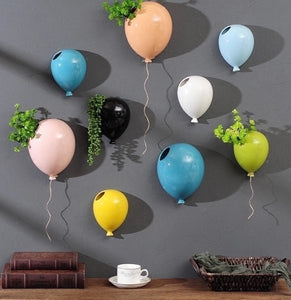Wall Mounted Balloon Planter - Wanderlushinterior - Planters on Sales with Free shipping