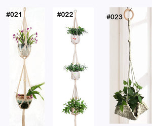 Handmade Macrame Plant Hanger - Wanderlushinterior - Planters on Sales with Free shipping