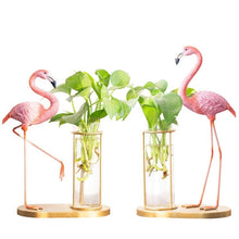 Load image into Gallery viewer, Flamingo Propagation Vase - Wanderlushinterior - Planters on Sales with Free shipping