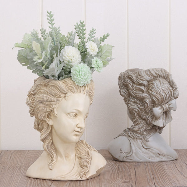 Greek Goddess Planter - Wanderlushinterior - Planters on Sales with Free shipping