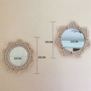 Macrame Mirror - Wanderlushinterior - Planters on Sales with Free shipping