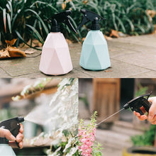 Load image into Gallery viewer, Pastel Geometrical Spray Bottle - Wanderlushinterior - Planters on Sales with Free shipping