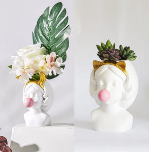 Charlotte the Gum Chewer - Wanderlushinterior - Planters on Sales with Free shipping