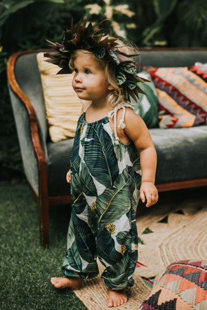 Romper in Tropical