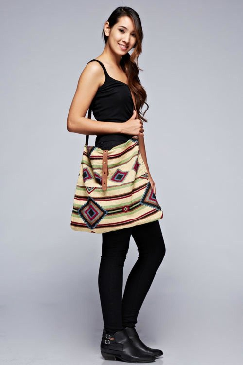 Tapestry Cross Body Bag