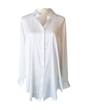 Boyfriend Silk Sleep Shirt