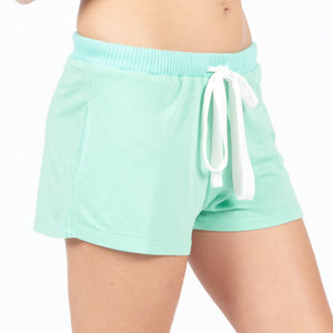 Mint PJ Shorts