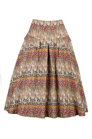 Veronica Ruffled Feathers Skirt