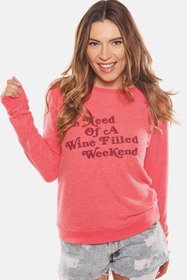 Wine Weekend Soft Sweatshirt