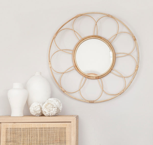 Royal Rattan Mirror