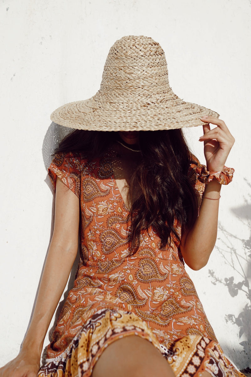 ISLA MINI DRESS | TERRACOTTA