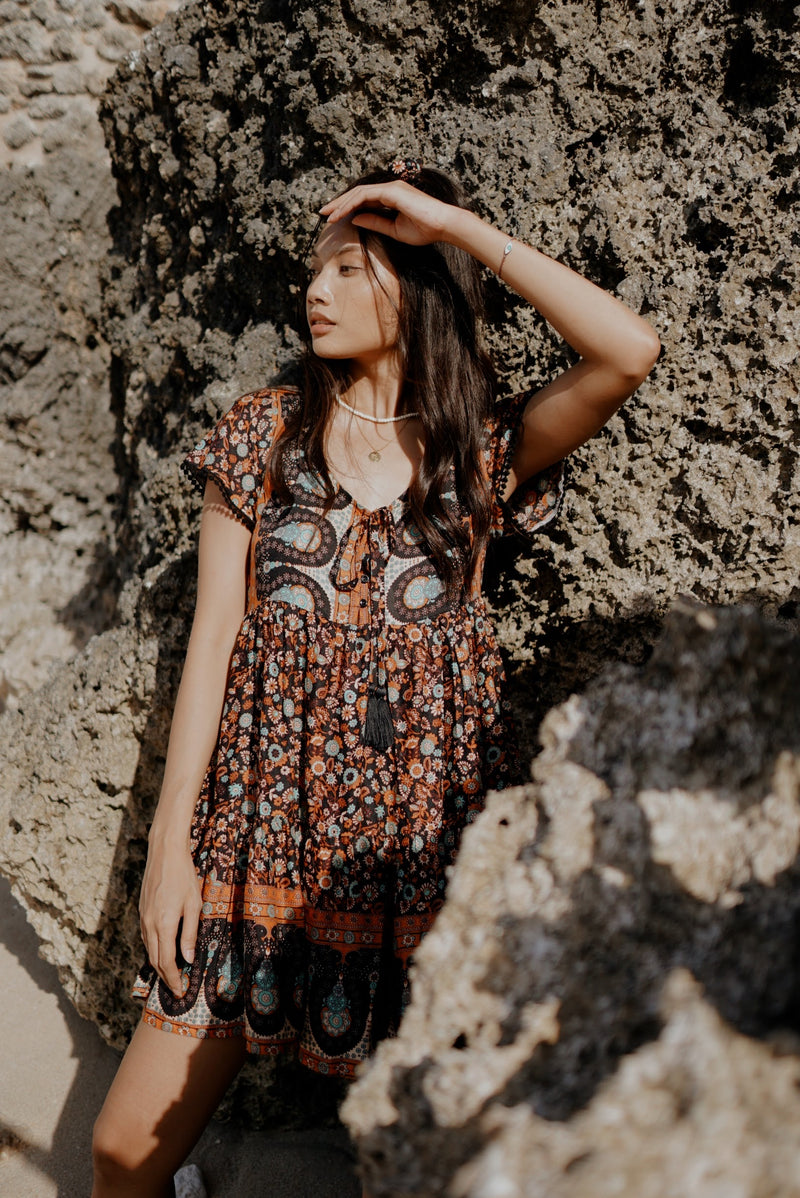 Livia Playdress | Boho Brown