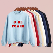 "Load image into Gallery viewer, ""Girl Power"" Hoodie - Pwrfull"