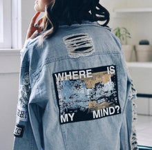 Load image into Gallery viewer, where is my mind bts aesthetic jacket