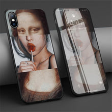 Load image into Gallery viewer, Mona Lisa iPhone Case - Pwrfull