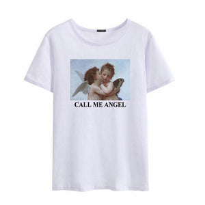 """Call Me Angel"" Tee - Pwrfull"