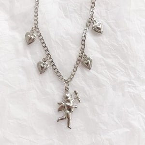 Cute Cupid Necklace - Pwrfull