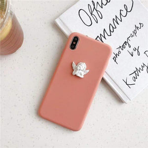 Little Angel iPhone Case - Pwrfull