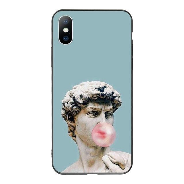 Bubble Gum David Michelangelo iPhone Case