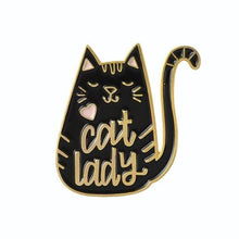 Load image into Gallery viewer, Meow Cat Enamel Pins