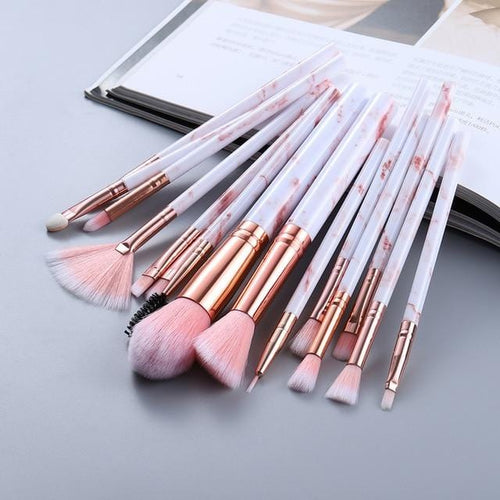 Marble Deluxe - 15 Pc/ 5 Pc Brush Set
