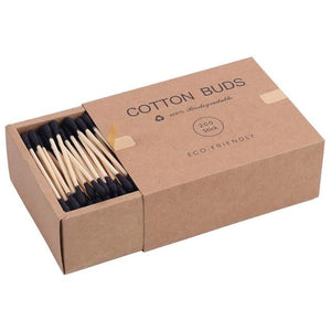 """Cotton Buds"" Biodegradable Bamboo Swabs"