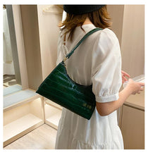 Load image into Gallery viewer, Crocodile Baguette Bag