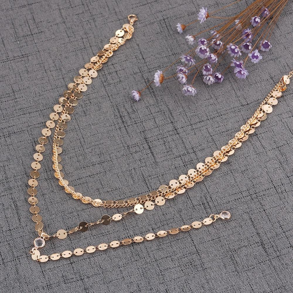 Radiant Light Multi-Layered Boho Choker Necklace - Pwrfull