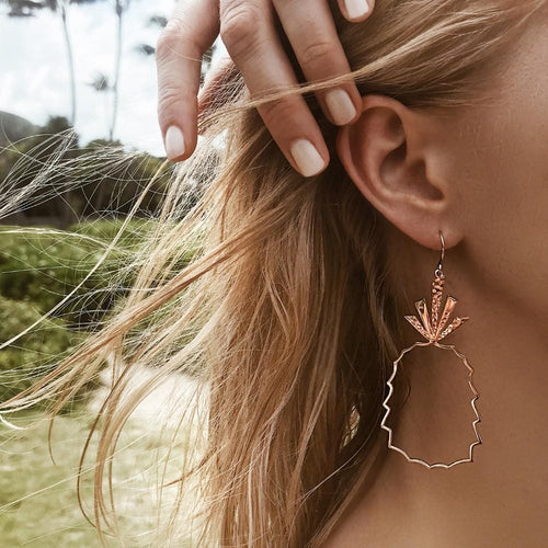 Pineapple Paradise Drop Earrings - Pwrfull