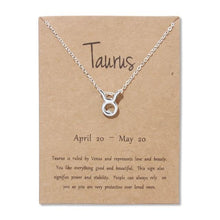 Load image into Gallery viewer, Zodiac Necklace - Pwrfull